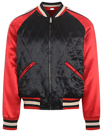 7885f1e47 Gucci Black and red reversible padded jacket