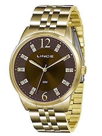 Lince Relógio Feminino Lince Analógico LRGJ044L N2KX - Dourado