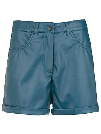 Pop Up Store Short de couro - Azul