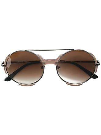 Orlebar Brown Óculos de sol redondo - Metálico