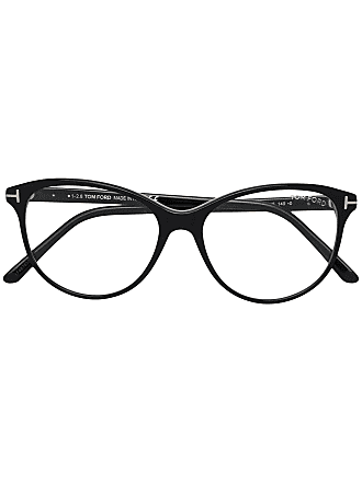 Tom Ford Eyewear cat eye shaped glasses - Black