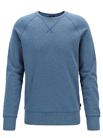 BOSS Slim-fit sweatshirt in French terry with stitch detailing