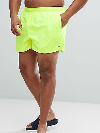 146489b0610 Nike Nike Plus Volley Super Short Swim Short In Yellow NESS8830-737