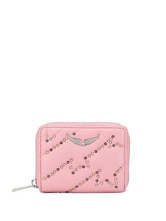 Zadig & Voltaire studded zip wallet - Pink