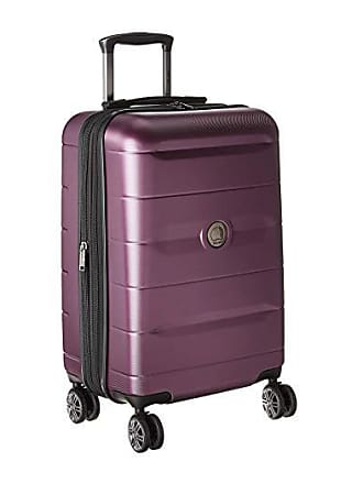 085ae7292 Delsey Comete 2.0 Expandable Spinner Carry-On (Plum) Carry on Luggage