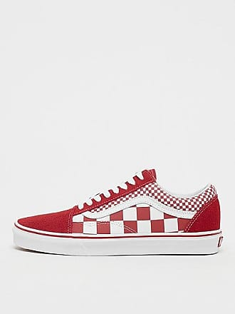 88aa47499b47d2 Vans UA Old Skool (Mix Checker) chili pepper true white
