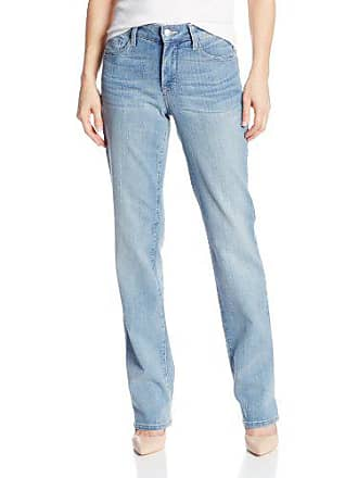 NYDJ Womens Marilyn Straight Leg Denim Jeans, Manhattan Beach, 2