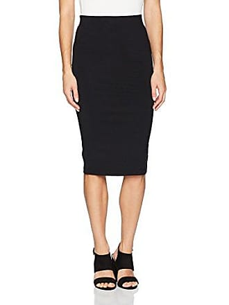 ff054a72ca53 David Lerner Womens Tube Pencil Skirt, Classic Black, L