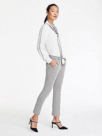 ANN TAYLOR The Tall Ankle Pant In Herringbone Knit