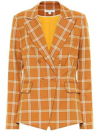 Jonathan Simkhai Checked cotton-blend blazer