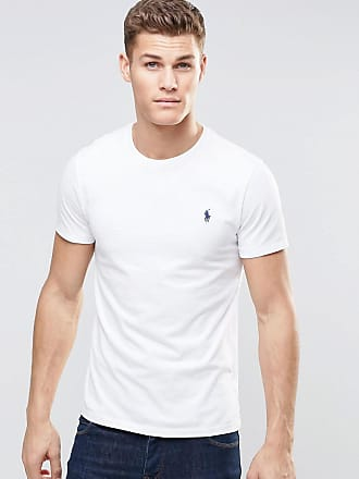 a66fab0a3cc43 Polo Ralph Lauren Camiseta blanca con cuello redondo de Polo Ralph Lauren