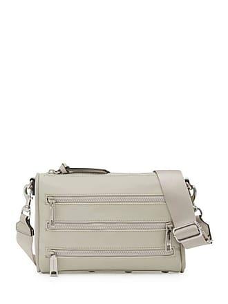 650601229 Rebecca Minkoff Solstice Mini 5 Zip Crossbody Bag Putty