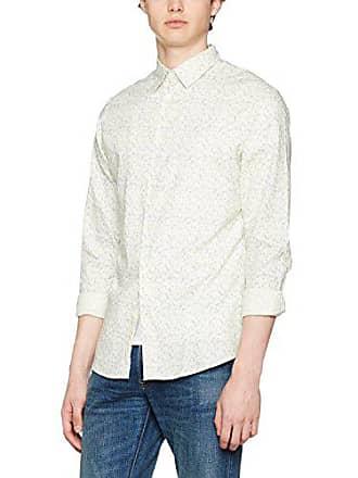ed78f34878c0f Selected Selected Homme Shhonelab Shirt LS, Chemise Business Homme,  Multicolore (Papyrus AOP