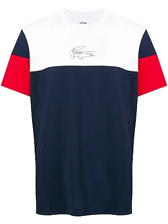 Lacoste colour-block T-shirt - Blue