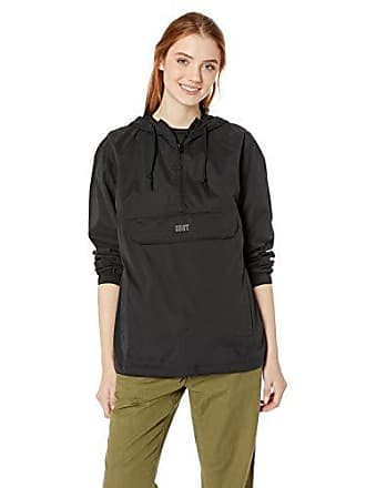 Obey Juniors Sienna Hooded Anorak, Black, Small
