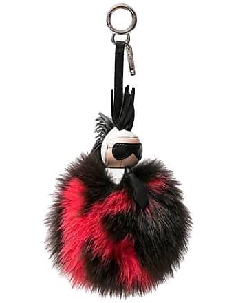 3525a8d1835b Fendi karlito Keychain Or Bag Charm In Mink Fur
