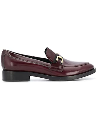 Geox front buckle loafers - Red