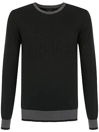 Armani Suéter de tricô - Preto