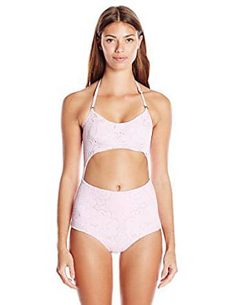 dd10b75794 Lolli Womens Girly Girl Cutout One-Piece Swimsuit, Cotton Candy, Large