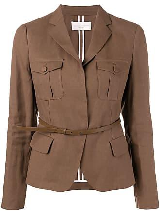 Fabiana Filippi belted waist blazer - Brown