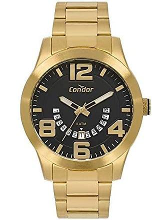 Condor Relógio Condor Masculino Ref: Co2115kuf/4p Casual Dourado