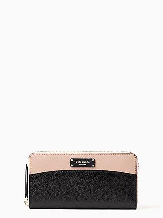 Kate Spade New York Jeanne Large Continental Wallet, Warm Vellum/Black