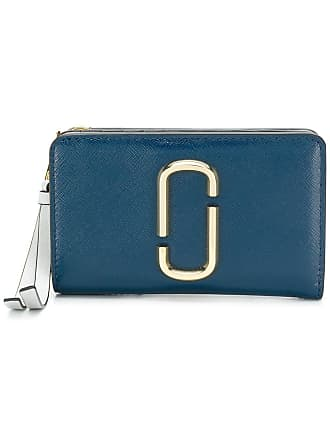 Marc Jacobs Snapshot compact wallet - Blue