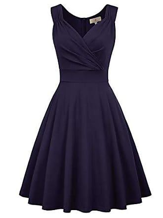 8f753578a10086 Grace Karin Damen Swing Kleid Petticoat Kleid Vintage Retro Sommerkleid Partykleid  cocktailkleid Größe L BP945-
