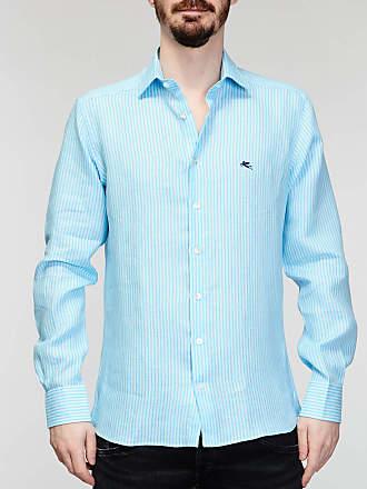 Rabaini Etro - Camicia rigata - Azzurro