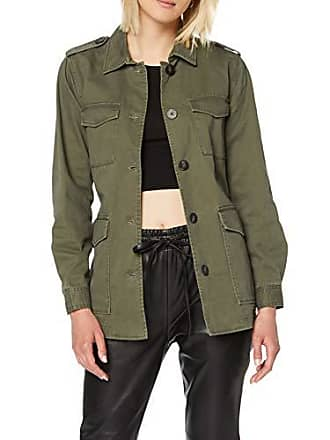 dac259034b6293 Only Onlcandice Utility Belt Jacket Giacca in Jeans, Verde (Kalamata  Detail: Color As