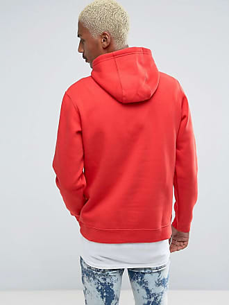 b0d1a5cd778d Nike Club pullover hoodie with swoosh logo in red 804346-657 - Red
