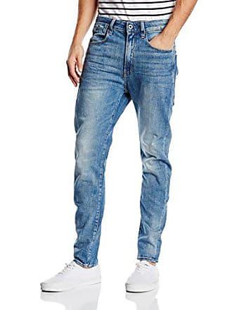G-Star Mens Type C 3D Super Slim Fit Jean in Humber Stretch Denim Lt Aged, Light, 31x34