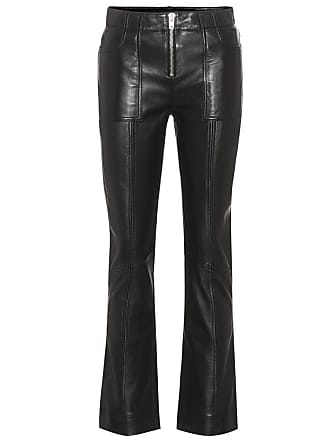 Ganni Passion leather trousers