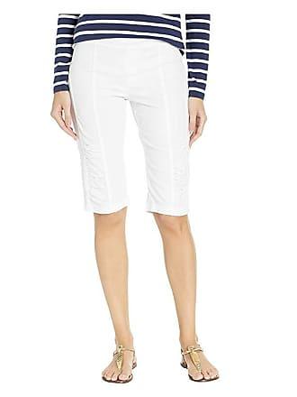 Xcvi Wearables Tatem Bermuda Shorts (White) Womens Shorts