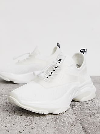 Steve Madden Match white chunky trainers