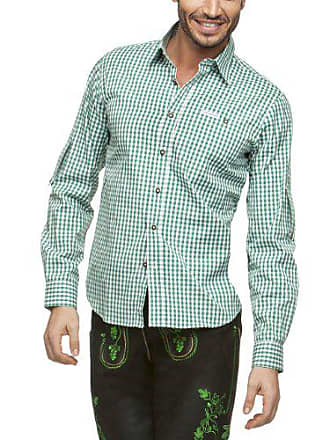 Stockerpoint Camisa para traje tradicional alemán de manga corta para hombre e6ee544ff69d