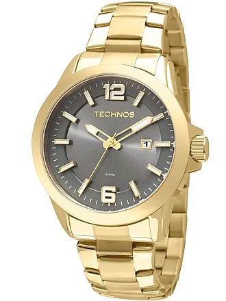 5c8ff46630a Technos Relógio Technos Masculino Classic Golf Dourado 2115KPX4P