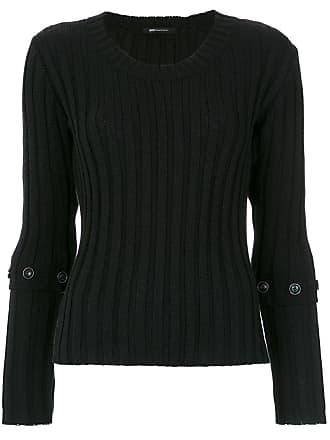 Uma Suéter Vitamina de tricô - Preto