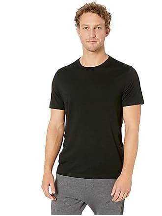 Icebreaker Tech Lite Short Sleeve Crewe (Black 5) Mens Clothing