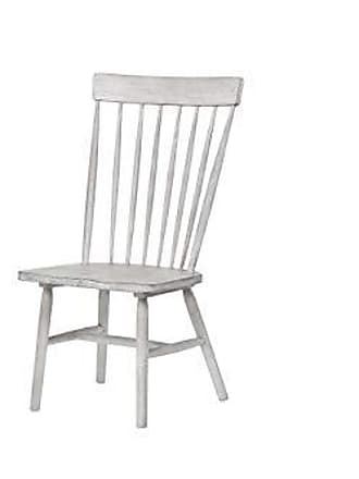 ACME ACME Furniture 72412 Adriel Side Chair (Set of 2) Antique White
