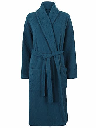 Marks and Spencer Ladies Carved Rose Belted Dressing Gown Robe M S 6  Colours (16- f9776d650