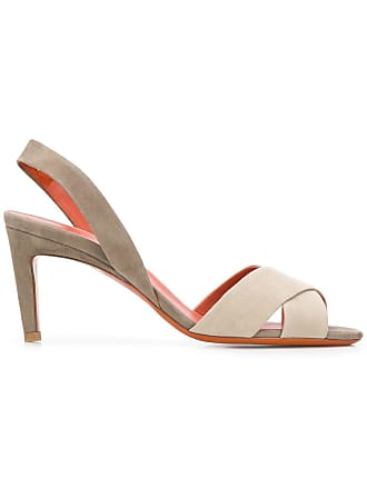 Santoni slip-on sandals - Neutrals