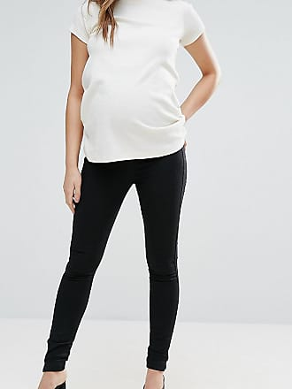 ead24cd5b51ce Asos Maternity ASOS DESIGN Maternity pull on jeggings in washed black with  over the bump waistband