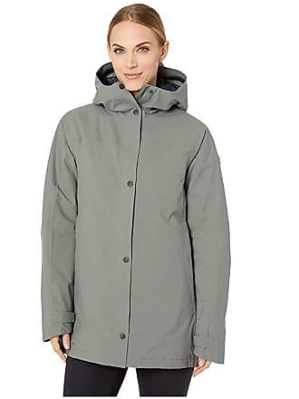 Fjällräven High Coast Eco-Shell Padded Parka (Thunder Grey) Womens Coat