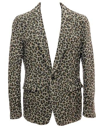 Rei Kawakubo Comme Des Garcons Homme Plus Wool Tweed Leopard Print Blazer 04c71cdc1
