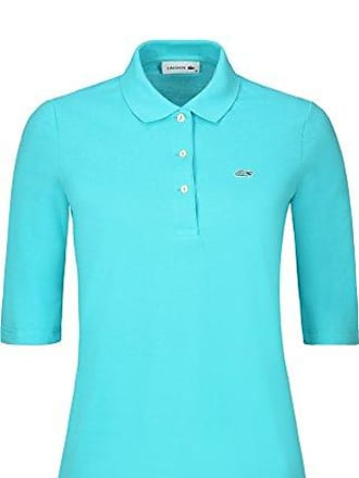 011436142eed Lacoste PF5381 Klassisches Damen Polo, Polohemd, Polo-Shirt mit 3 4 Arm