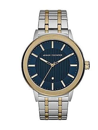 Armani Relógio Armani Exchange Masculino Clássicos E Diferenciados Bicolor Ax1466/1kn