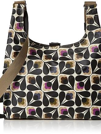 Orla Kiely Womens Matt Laminated Sycamore Seed Print Midi Sling Bag Shoulder Handbag, Multicolour (Multi), 33x25.5x10 cm (W x H x L)
