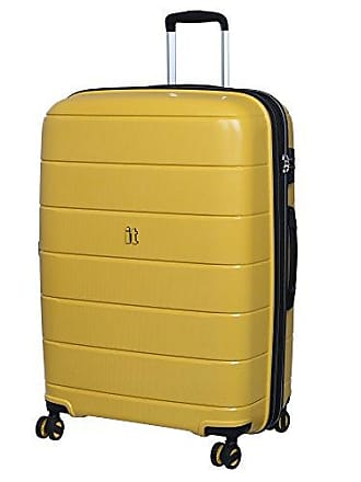 IT Luggage IT Luggage 29.5 Asteroid 8-Wheel Hardside Expandable Spinner, Cheese Yellow