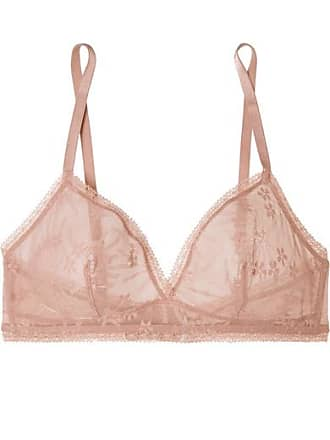 4fe226e1521 Eres Bang Stretch-lace Soft-cup Triangle Bra - Antique rose